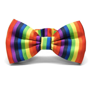 Gay Pride Rainbow Adjustable Bowtie