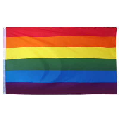Gay Pride Rainbow Flag (5ft x 3ft Premium)
