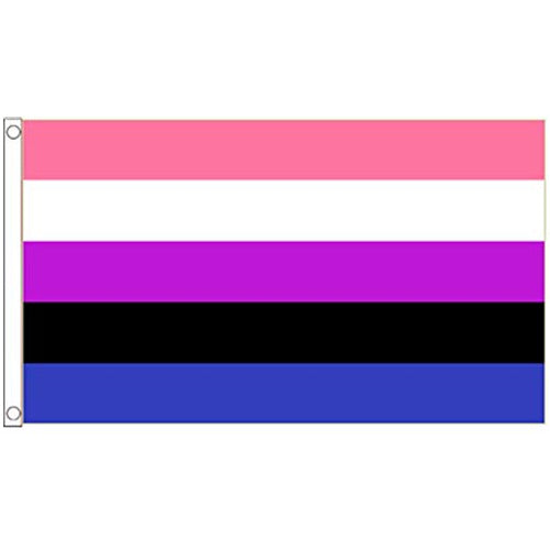 Gender Fluid Pride Flag (5ft x 3ft Premium)