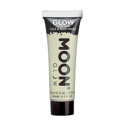 Moon Creations Glow In The Dark Face & Body Paint - Invisible
