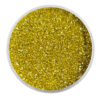 MUOBU Biodegradable Gold Glitter - Fine Metallic Glitter