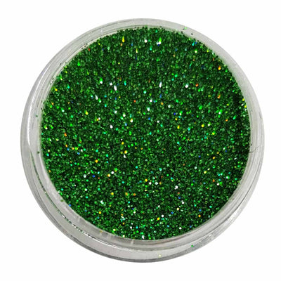 Emerald Envy - Green Holographic Loose Fine Glitter