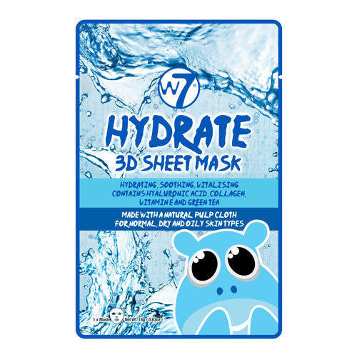 W7 Hydrate 3D Sheet Face Mask