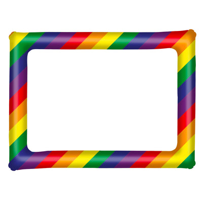 Gay Pride Rainbow Inflatable Picture Frame