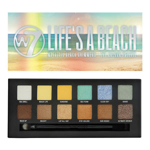W7 Life's A Beach - Metallic Beach Shimmers Eye Colour Palette