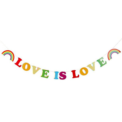 Love Is Love Foil Bunting
