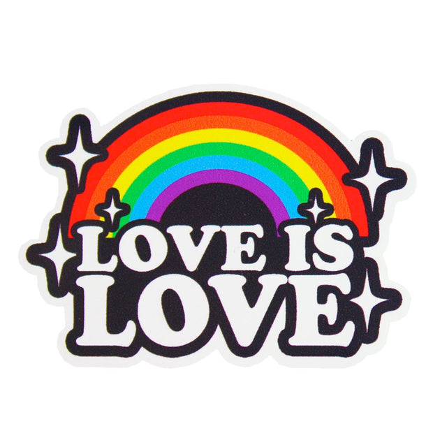 Love Is Love Vinyl Sticker