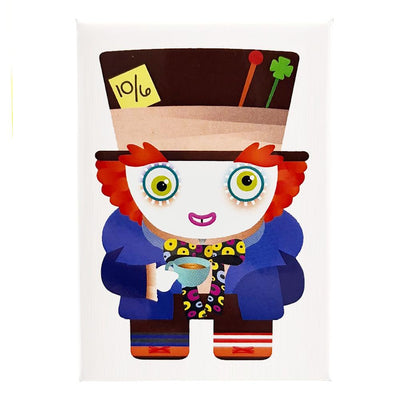 Mad Hatter Fridge Magnet