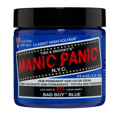 Manic Panic Hair Dye Classic High Voltage - Bad Boy Blue