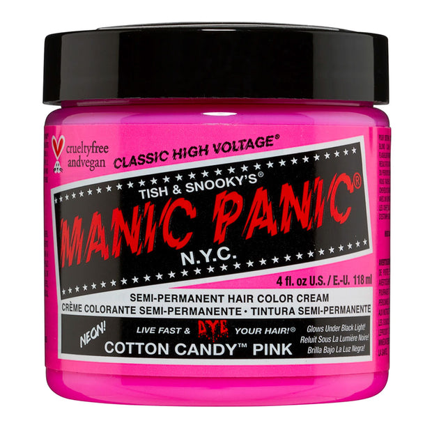 Manic Panic Hair Dye Classic High Voltage - Neon UV Cotton Candy Pink