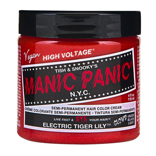 Manic Panic Hair Dye Classic High Voltage - Neon UV Electric Tiger Lily