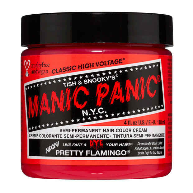 Manic Panic Hair Dye Classic High Voltage - Neon UV Pretty Flamingo