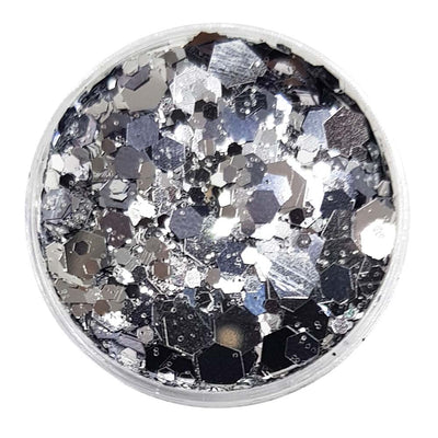Silver Festival Glitter (Metallic Chunky Glitter Mix) - Mirror Mirror On The Wall