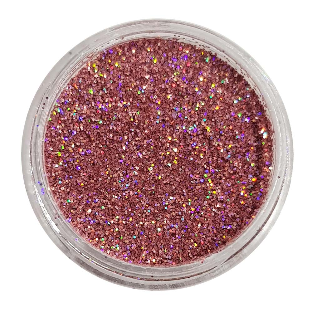 Miss You More - Pink Holographic Loose Fine Glitter