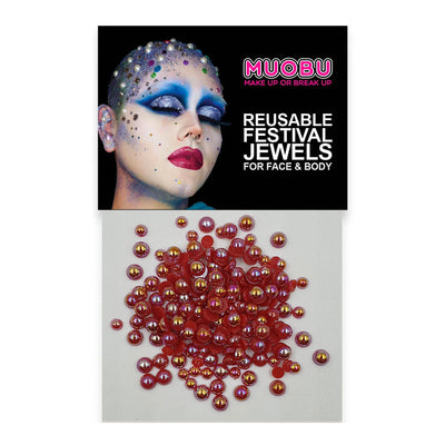 Red Pearls - Face & Body Pearls (Mixed Size Pack)