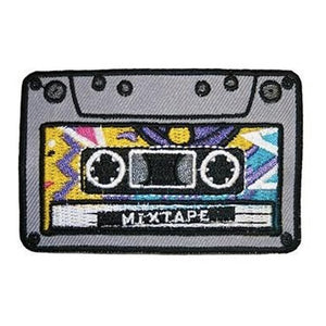 Mixtape Iron-On Festival Patch