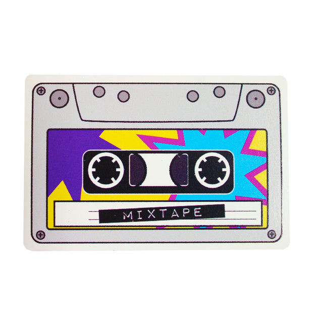 Mixtape Vinyl Sticker