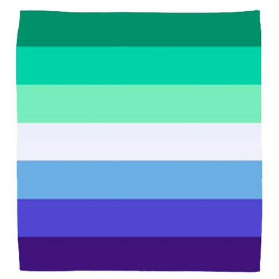 Gay Male / MLM (Men Loving Men) Pride Flag Bandana