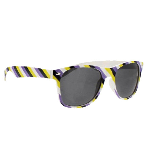 Non Binary Flag Colours Wayfarer UV400 Sunglasses