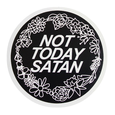 Not Today Satan Bianca Del Rio Vinyl Sticker