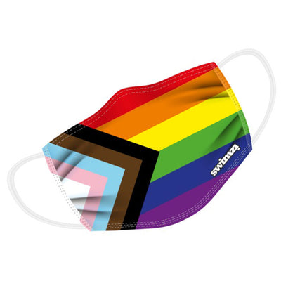 Progress Pride Flag Twin Layer Face Mask
