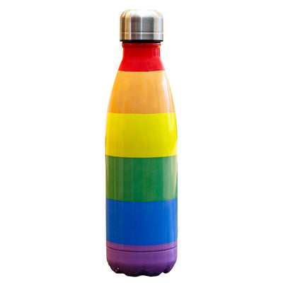 Gay Pride Rainbow Stainless Steel Vacuum Flask