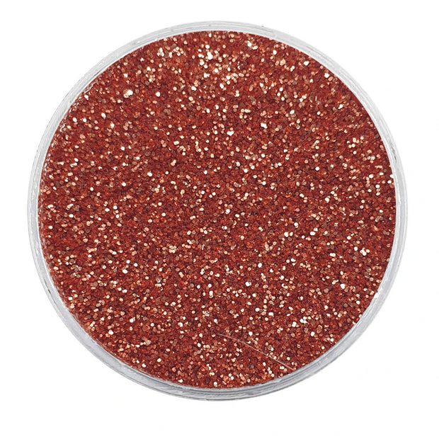 MUOBU Biodegradable Rose Gold Glitter - Fine Metallic Glitter