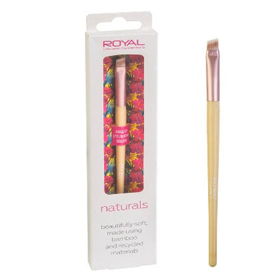 Royal Naturals Make-Up Brush - Angled Eye Brow Brush