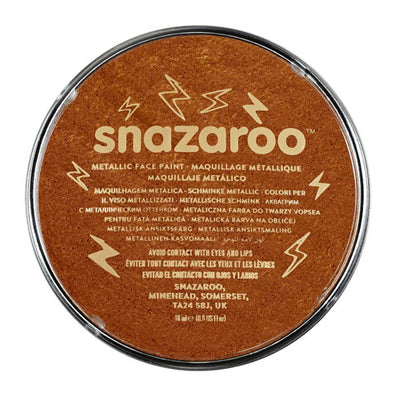 Snazaroo Face & Body Paint - Metallic Electric Copper