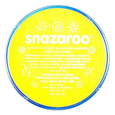 Snazaroo Face & Body Paint - Pale Yellow
