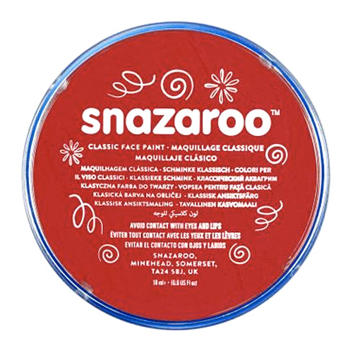 Snazaroo Face & Body Paint - Bright Red
