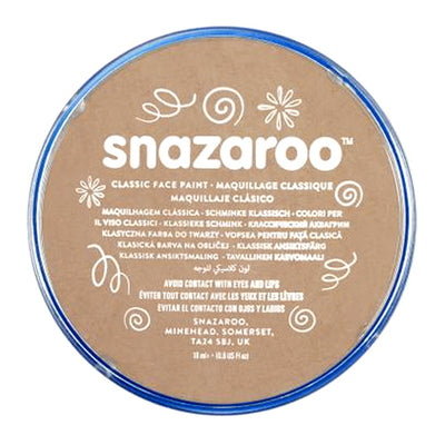 Snazaroo Face & Body Paint - Barely Beige