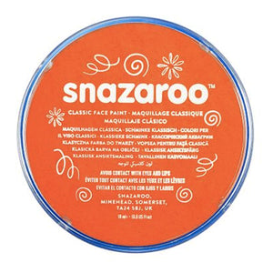 Snazaroo Face & Body Paint - Dark Orange