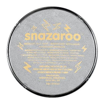 Snazaroo Face & Body Paint - Metallic Electric Silver