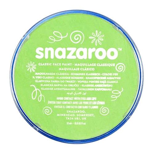 Snazaroo Face & Body Paint - Lime Green
