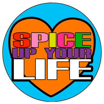 Spice Up Your Life Small Pin Badge