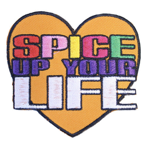 Spice Up Your Life Iron-On Festival Patch