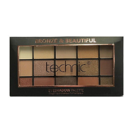 Technic 15 Eyeshadow Palette - Bronze And Beautiful