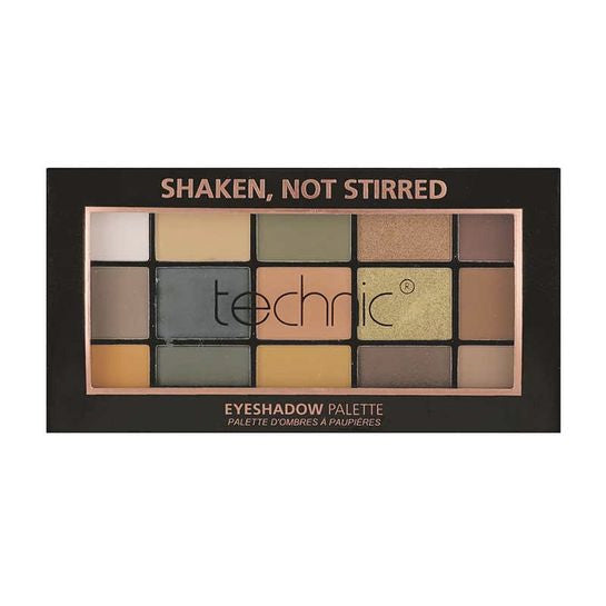 Technic 15 Eyeshadow Palette - Shaken, Not Stirred