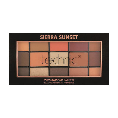 Technic 15 Eyeshadow Palette - Sierra Sunset
