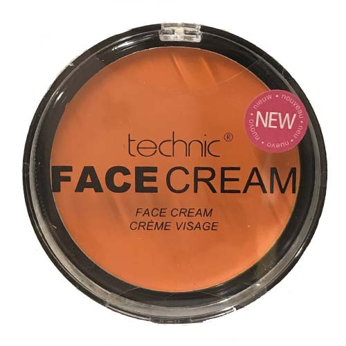 Technic Halloween Face Cream Orange