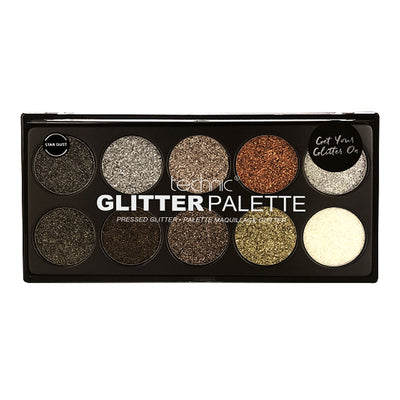 Technic Pressed Glitter Palette - Star Dust