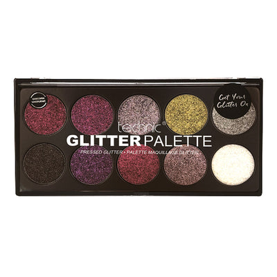 Technic Pressed Glitter Palette - Unicorn Uniform