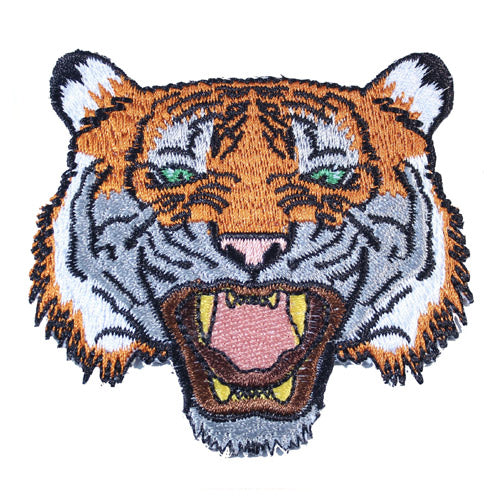 Tiger Iron-On Festival Patch