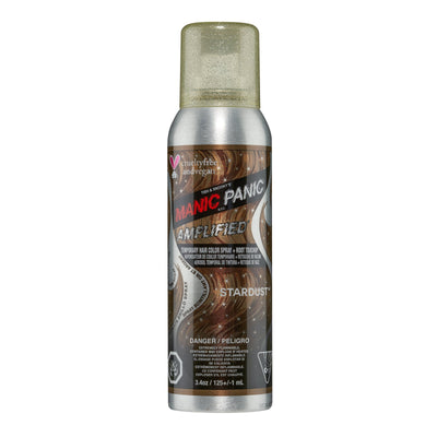 Manic Panic Temporary Spray-On Colour - Gold & Silver Glitter Spray