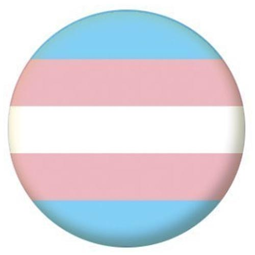 Transgender Pride Small Pin Badge