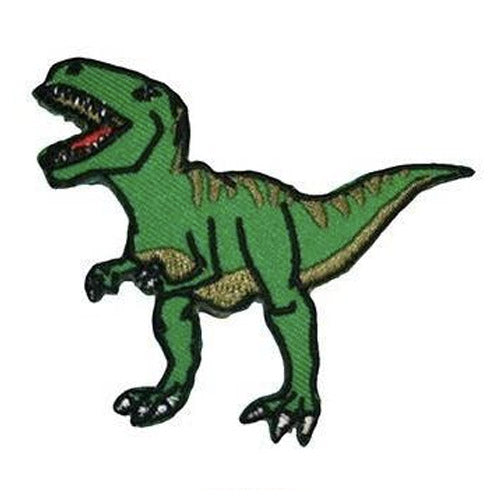 T-Rex Iron-On Festival Patch