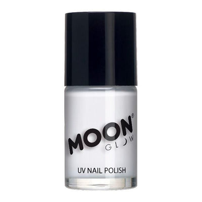 Moon Glow Neon UV Intense Nail Polish - White