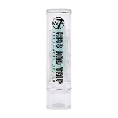 W7 Kiss And Trip Holographic Lipstick - Blue Flash