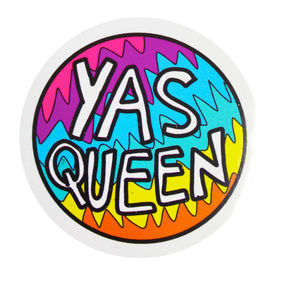 Yas Queen Vinyl Sticker